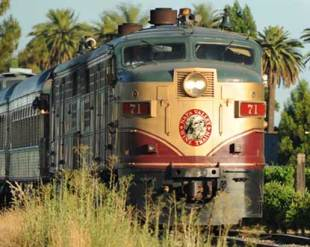 Photo credit Destination360  Napa Valley Wine Train