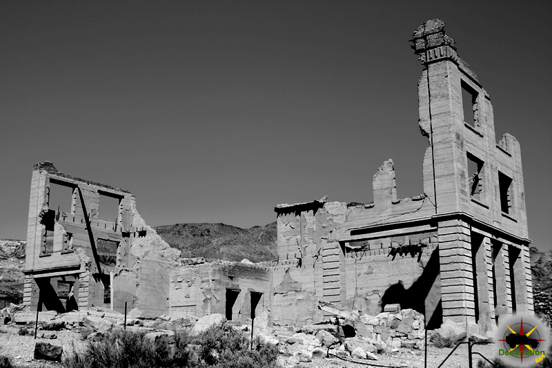 Rhyolite, Nevada photo by James L Rathbun
