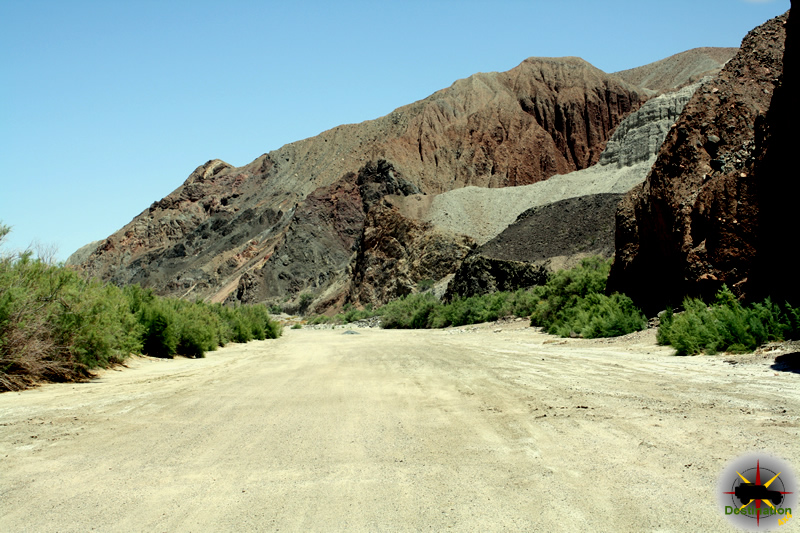 Afton Canyon in the Mojave National Preserve.