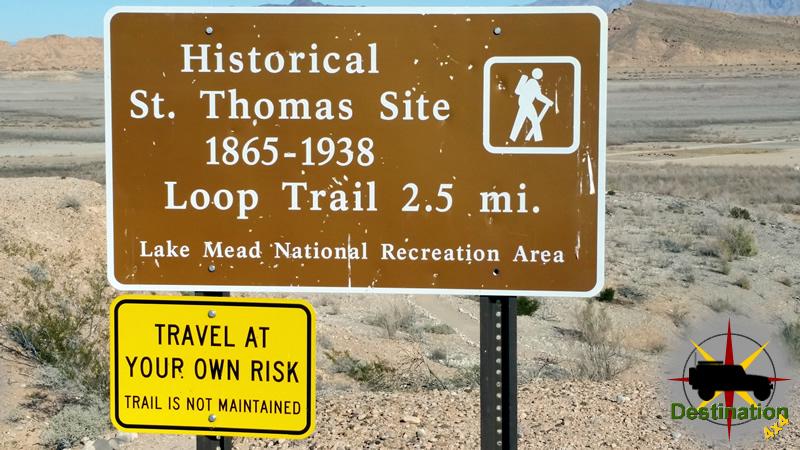 St Thomas Trail head