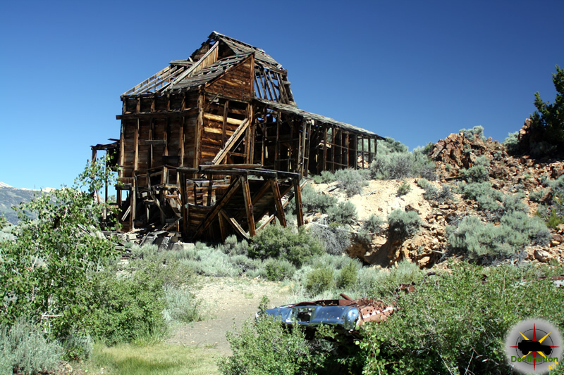 The Chemung Mine located just outside of Bridgeport, CA. Photograph by James L Rathbun