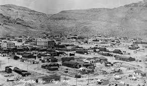 Rhyolite, Nevada 1909