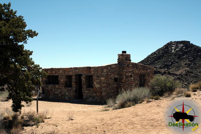 Bert Smith's Cabin overlooks Camp Rock Springs