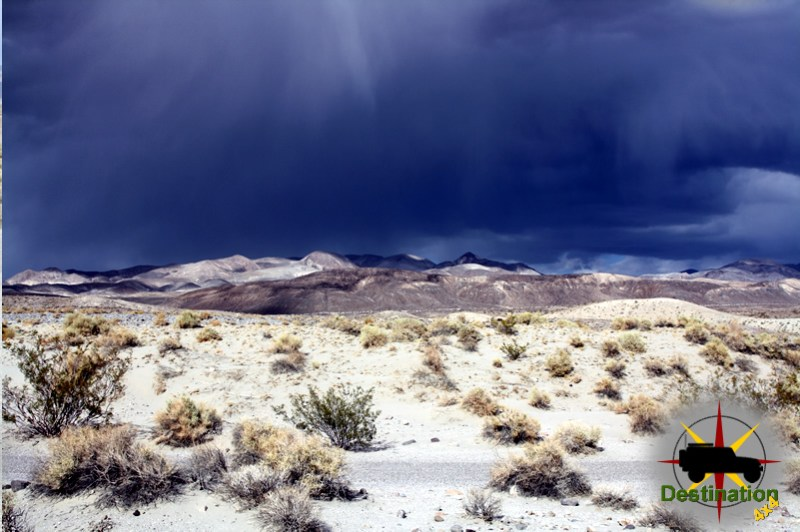 Never let anyone tell you it does not rain in Death Valley.