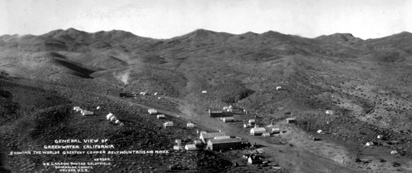 Greenwater Mining District, CA 1906