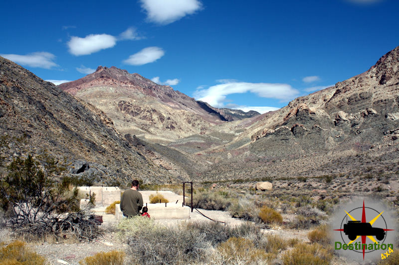 Leadfield Gost Town, Death Valley, California
