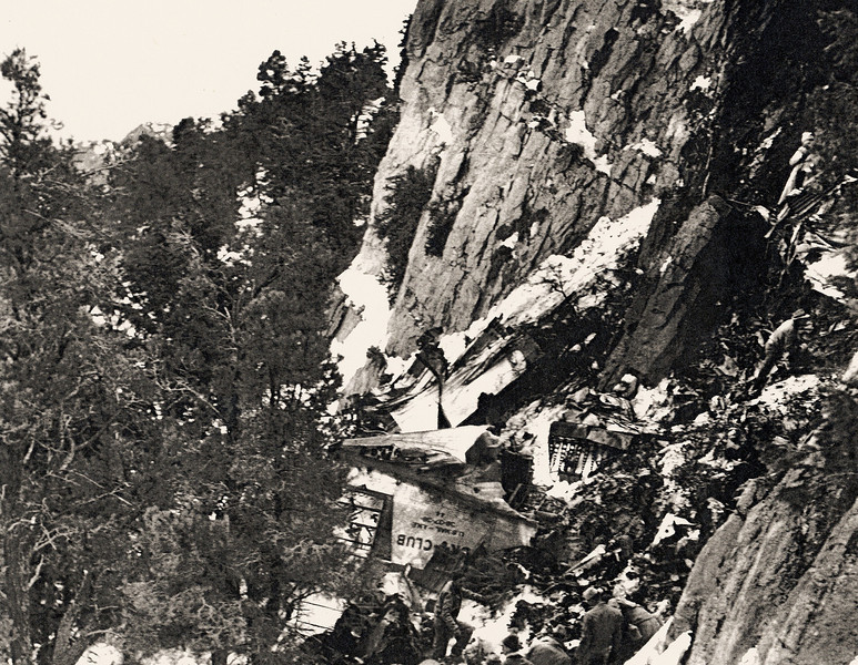 Carol Lombard was killed on a Douglas DC-3, Jan 16, 1942 on Mt Potosi