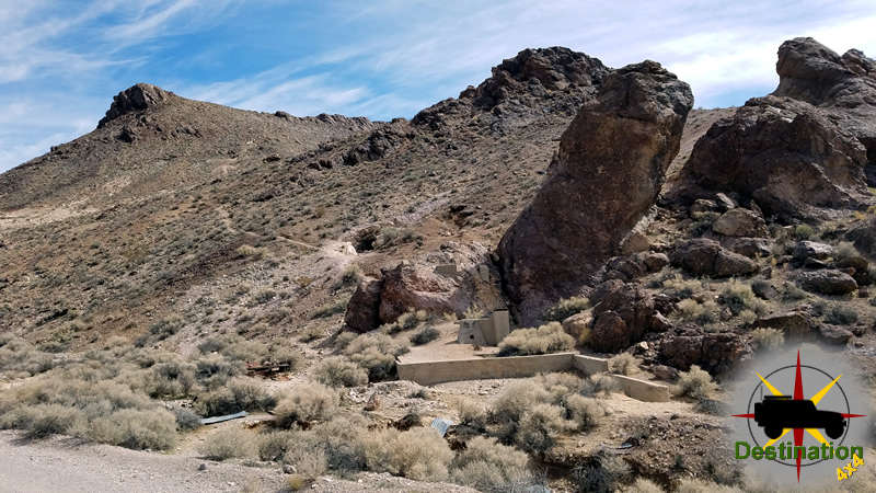 The mines of Rhyolite, Nevada operated from 1905 - 1911