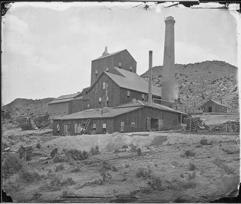 CANFIELD'S MILL, BELMONT, NEVADA - NARA - 524117
