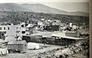 Chafey, Nevada. 1908. Prior site of Dun Glen, Nevada.
