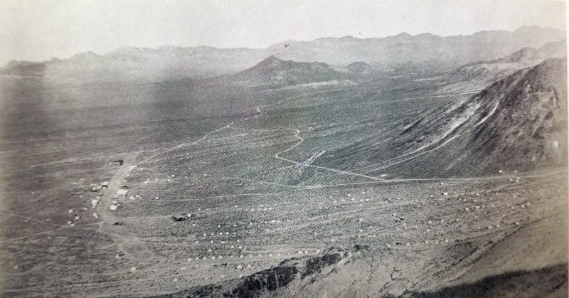 Main Street in Bullfrog Nevada - 1905