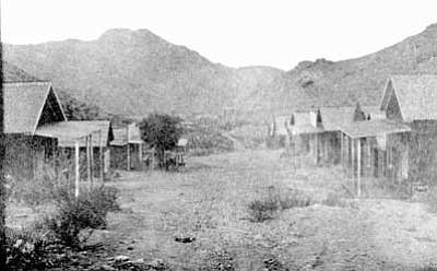 Cerbat Arizona in 1870