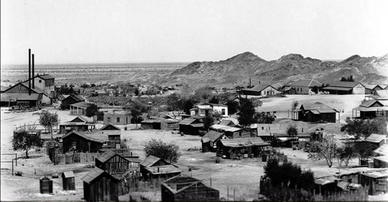 [Circa 1905] Tumco Historic Mining Town, California - Hedges California