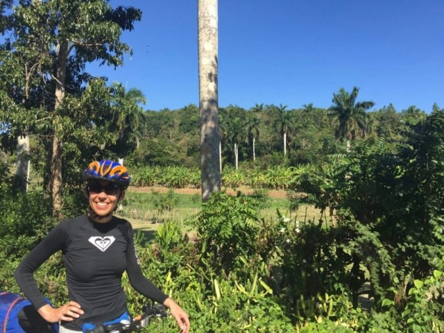 Destination Addict - Enjoying the amazing scenery on our last day on the road in Cuba from Cienfuegos to Trinidad