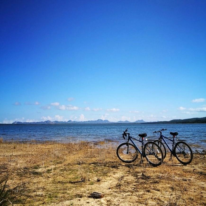 """Destination Addict - Enjoying some peace & quiet after cycling to lake """"Presa El Salto"""", Viñales, Cuba"""