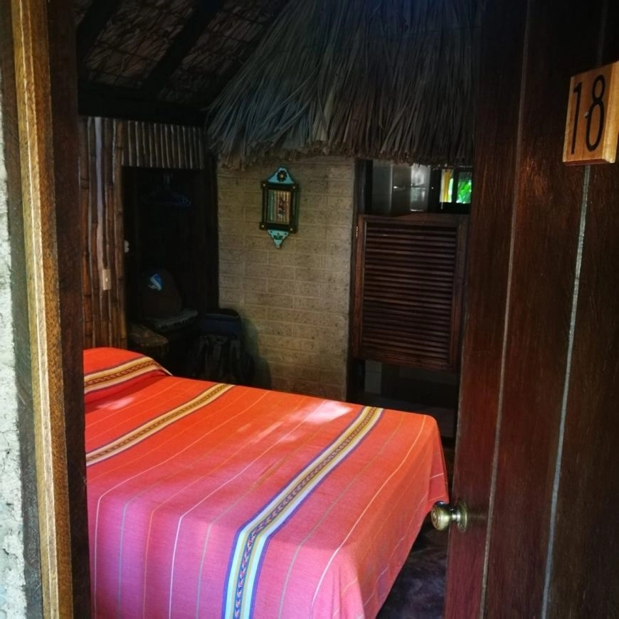 Destination Addict - Our cute little Cabana at Mayabell, near the ruins of Palenque, Mexico
