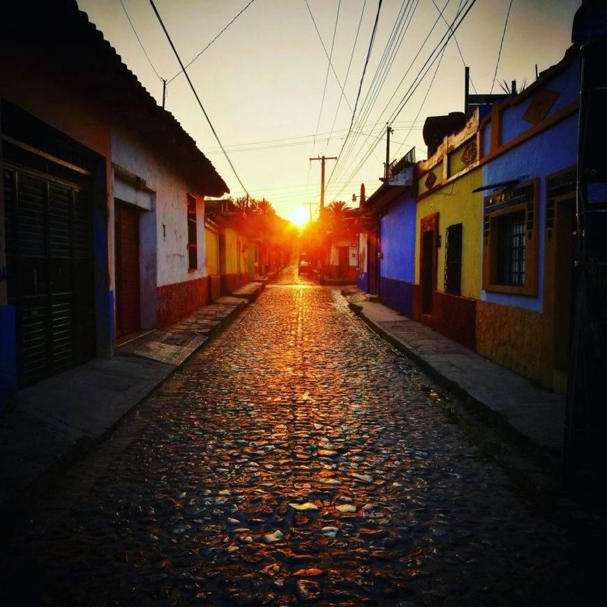 Destination Addict - Leaving San Cristobal De Las Casas, Mexico at sunrise