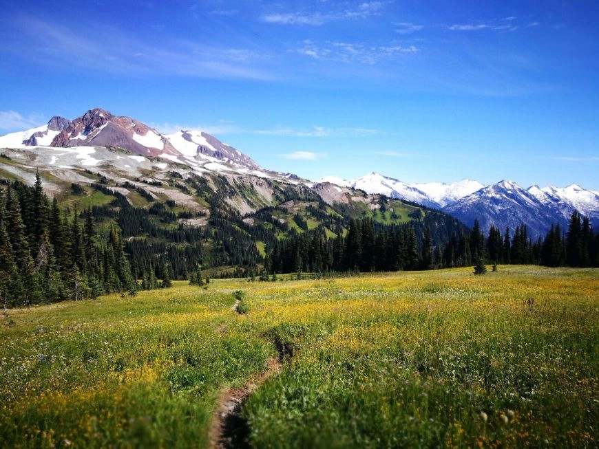 Destination Addict - Following hiking trails near Whistler, BC, Canada