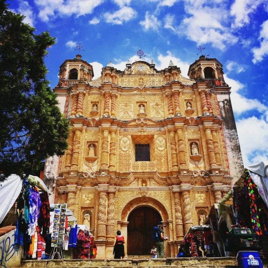 Destination Addict - One of the many beautiful Iglesia's in San Cristobal De Las Casas