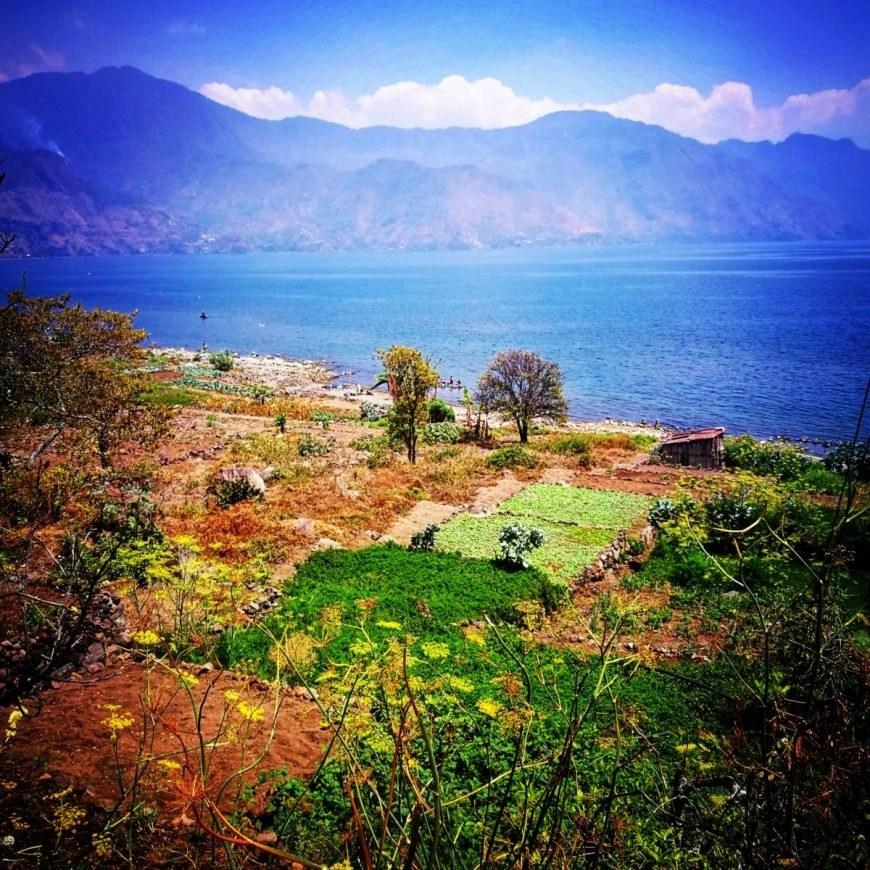 Destination Addict - Gorgeous views of Lake Atitlan just outside of the village of San Pedro La Laguna, Guatemala