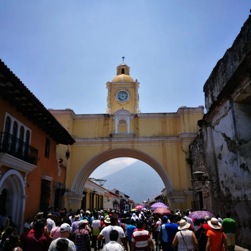 Destination Addict - Santa Catalina Arch, Antigua, Guatemala