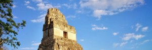 Mayan ruins at Tikal - Flores, Guatemala to Chetumal, Mexico Border Crossing – Via Belize