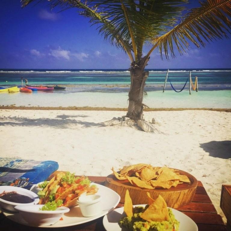 Destination Addictr - Chilling on the beach at Nacional Beach Club, Mahahual