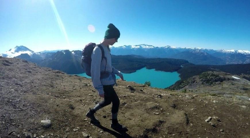 Best hikes in Whislter  - Above Garibaldi Lake at Panorama Ridge, BC, Canada