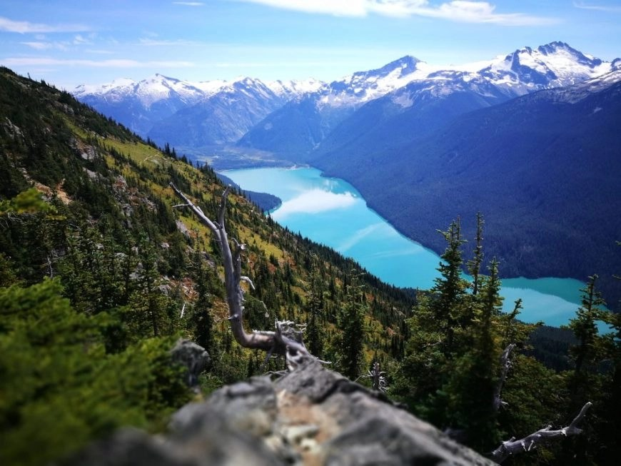 Destination Addict - Cheakamus Lake, Whistler, British Columbia Canada - 10 Canadian Lakes that will blow your mind