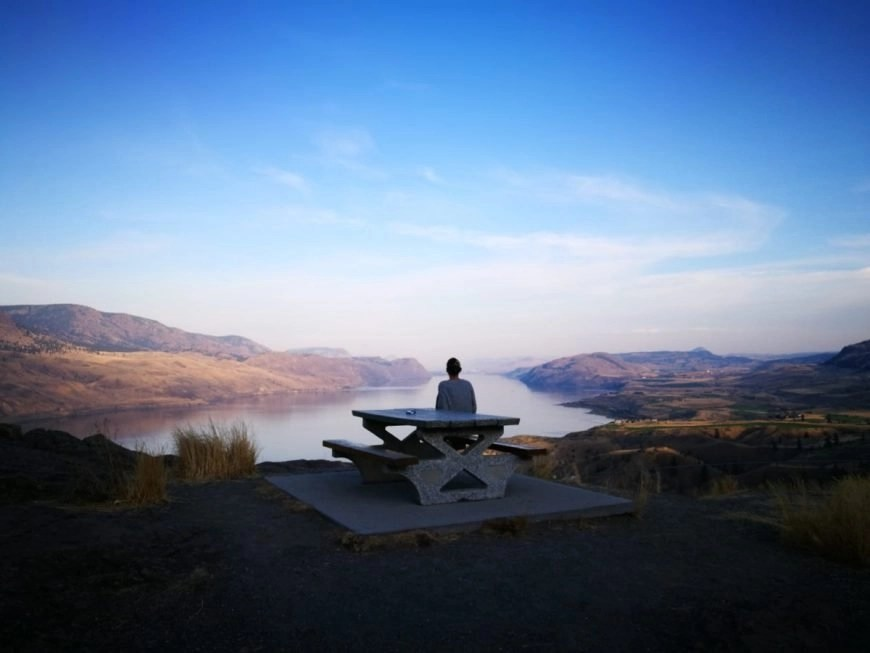 Destination Addict - Roadside stop on the way home after Kamloops, British Columbia, Canada