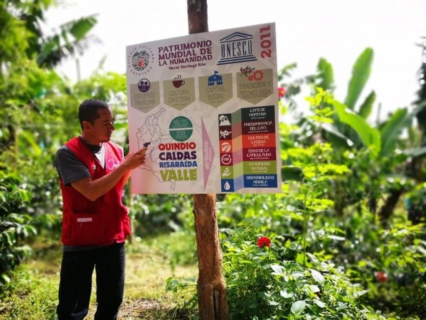 A very informative coffee tour at El Ocaso, Salento, Quindio Colombia