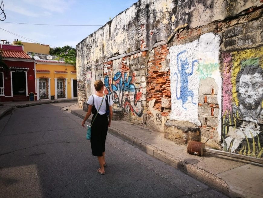 Destination Addict - Taking a stroll through the streets of Getsemani, Cartagena, Colombia
