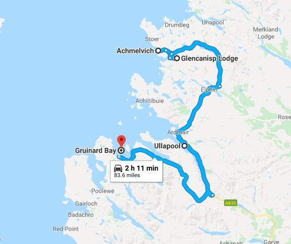 nc500 day five - our route & stops - Destination Addict