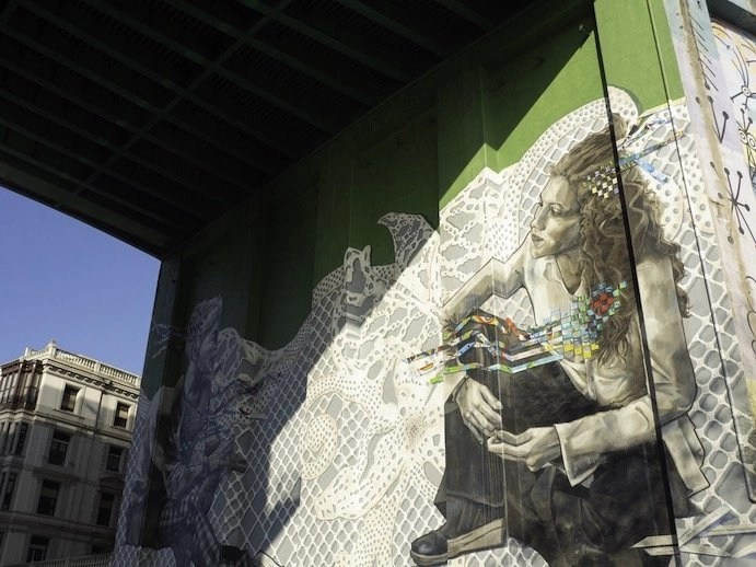 Why Visit Bilbao – Told Through Our Highlights - Street art along the River Arenal - Destination Addict