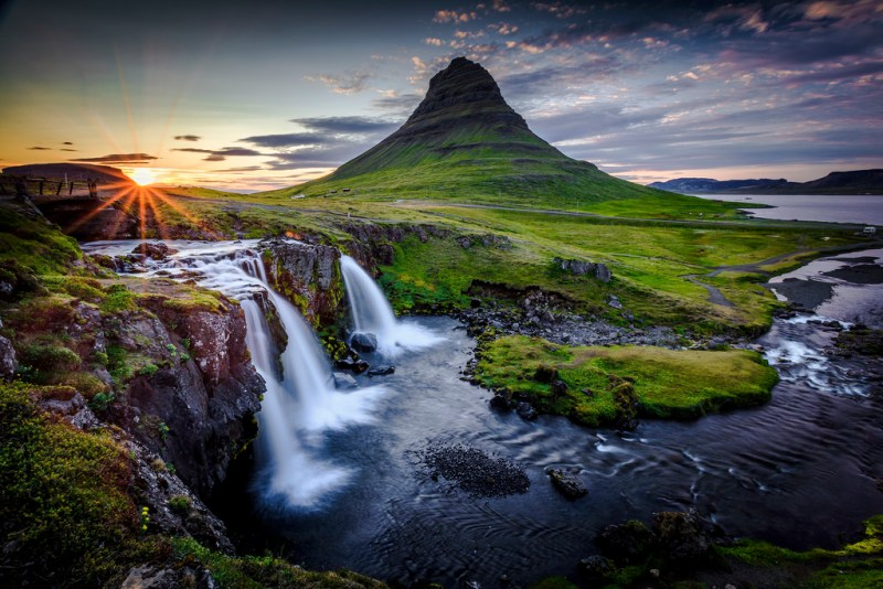 Mt. Kirkjufell and Kirkjufellfoss (Photo Credit: Flickr.com)