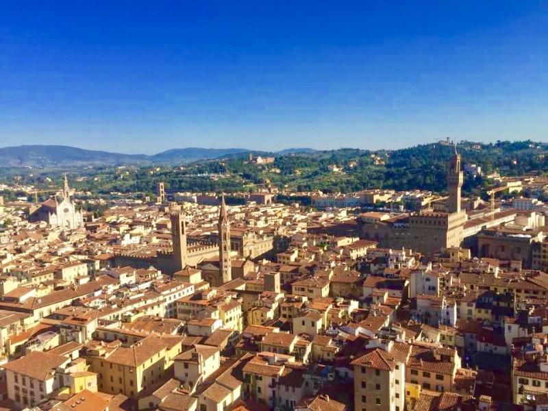 Views of Florence from Giotto's Campanile