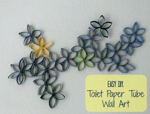 Toilet Paper Tube Art-Pinterest