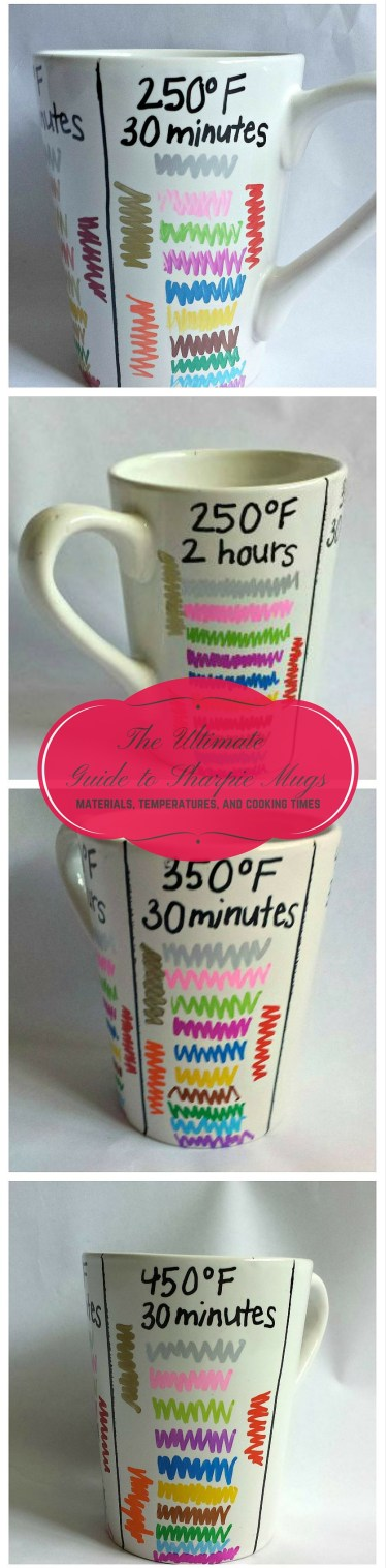The Ultimate Guide to Sharpie Mugs | Tips, Tricks, and Hints to Get the Most Out of Your Sharpie Mugs | The Best Temperatures, Materials, and Cooking Times | Destination Decoration
