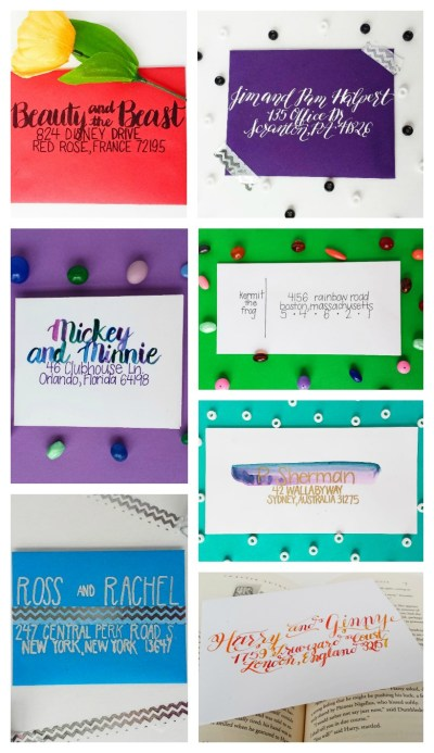 7 Ways to Address an Envelope - Destination Decoration