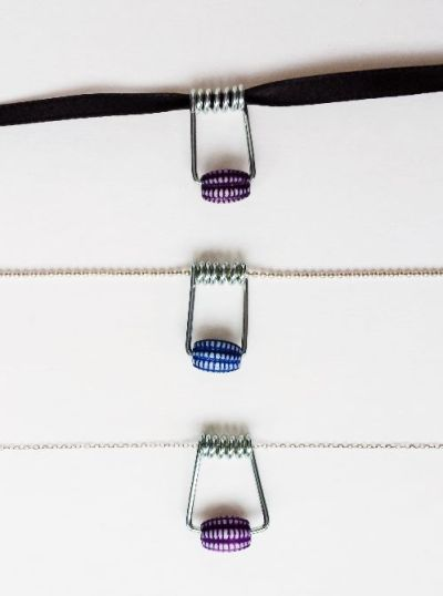 DIY Necklace -- Upcycled Clothespin Necklace -- Destination Decoration