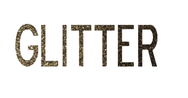 How to Add a Glitter Texture to Text