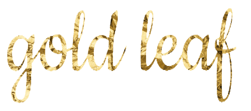 How to Create Gold Leaf Text