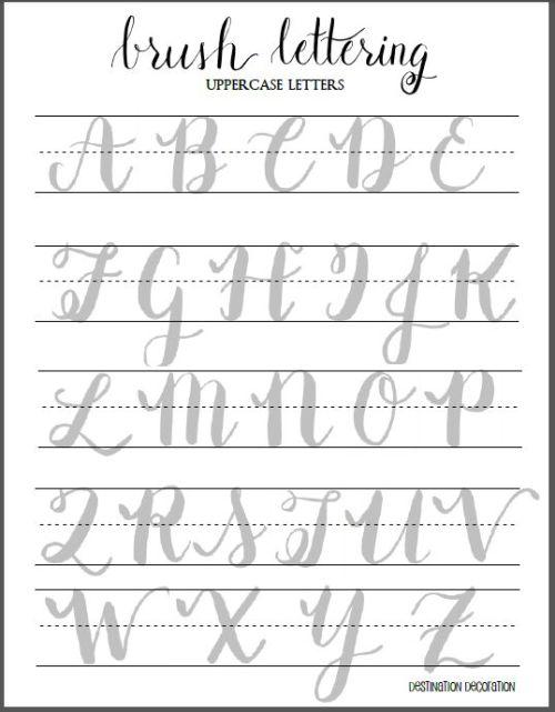 The Beginner's Guide to Brush Lettering: Part II