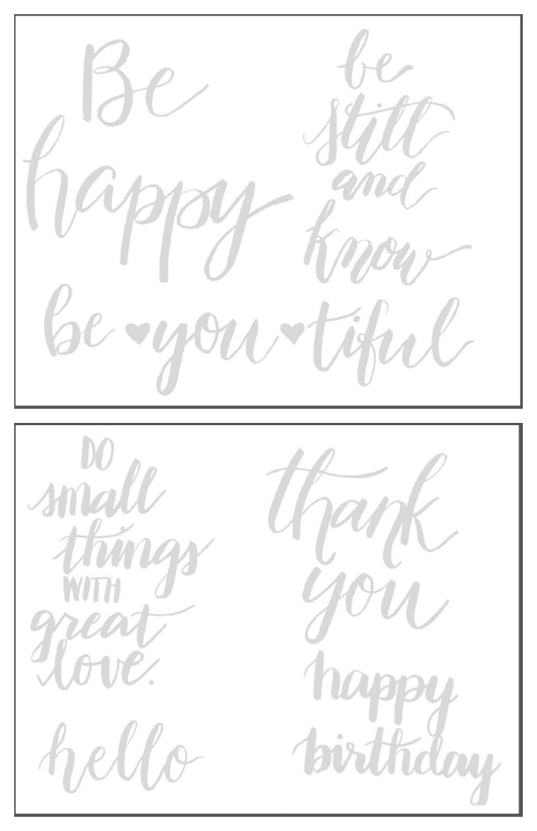 image about Brush Lettering Practice Sheets Printable named The Rookies Direct toward Brush Lettering: Portion II