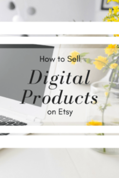 How to Sell Digital Products on Etsy | Make Passive Income by Selling Digital Items | Turn Etsy Selling Into a Side Hustle or Even a Full-Time Job | Destination Decoration