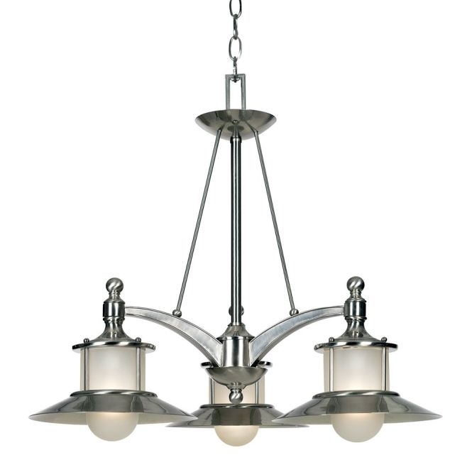 Quoizel Lighting Nautical Chandelier With Three Lights Na5103bn Hover Or Click To Zoom