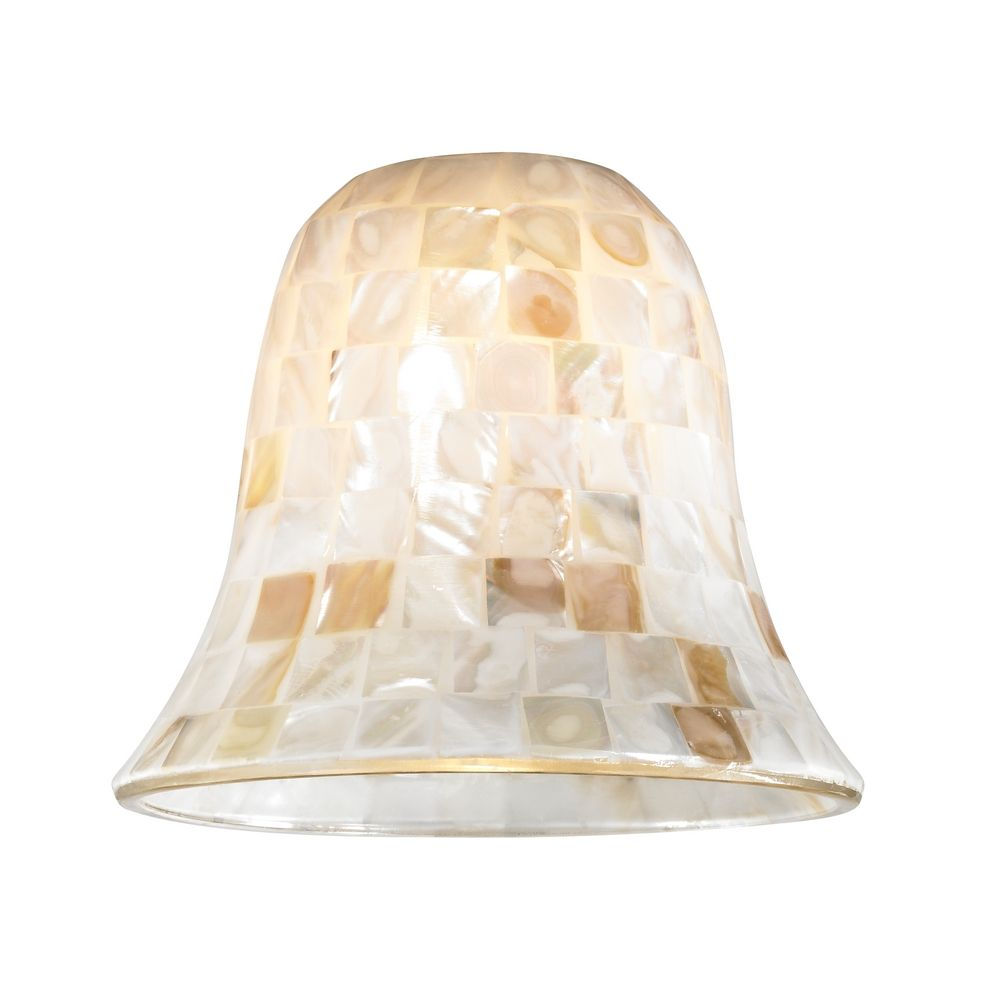 mosaic glass shade lipless with 1 5 8 inch fitter opening at destination lighting