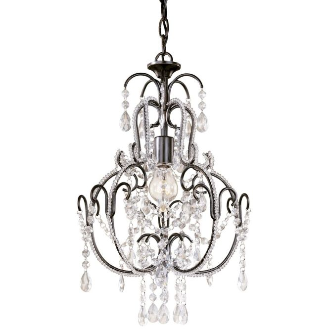 Minka Lavery Single Light Crystal Chandelier 3123 489 Hover Or Click To Zoom