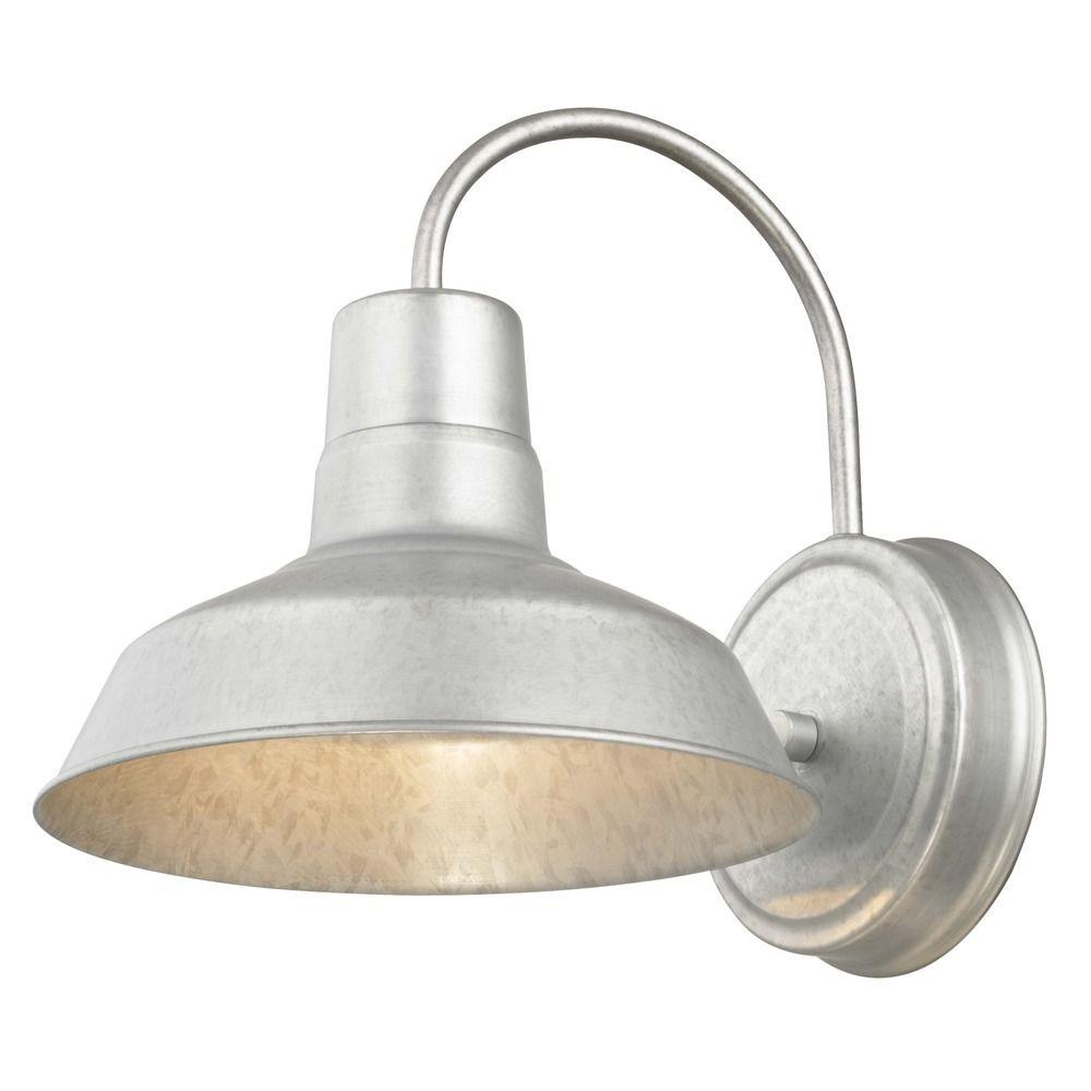barn light galvanized 8 5 inch wide by design classics Galvanized Barn Light id=33489
