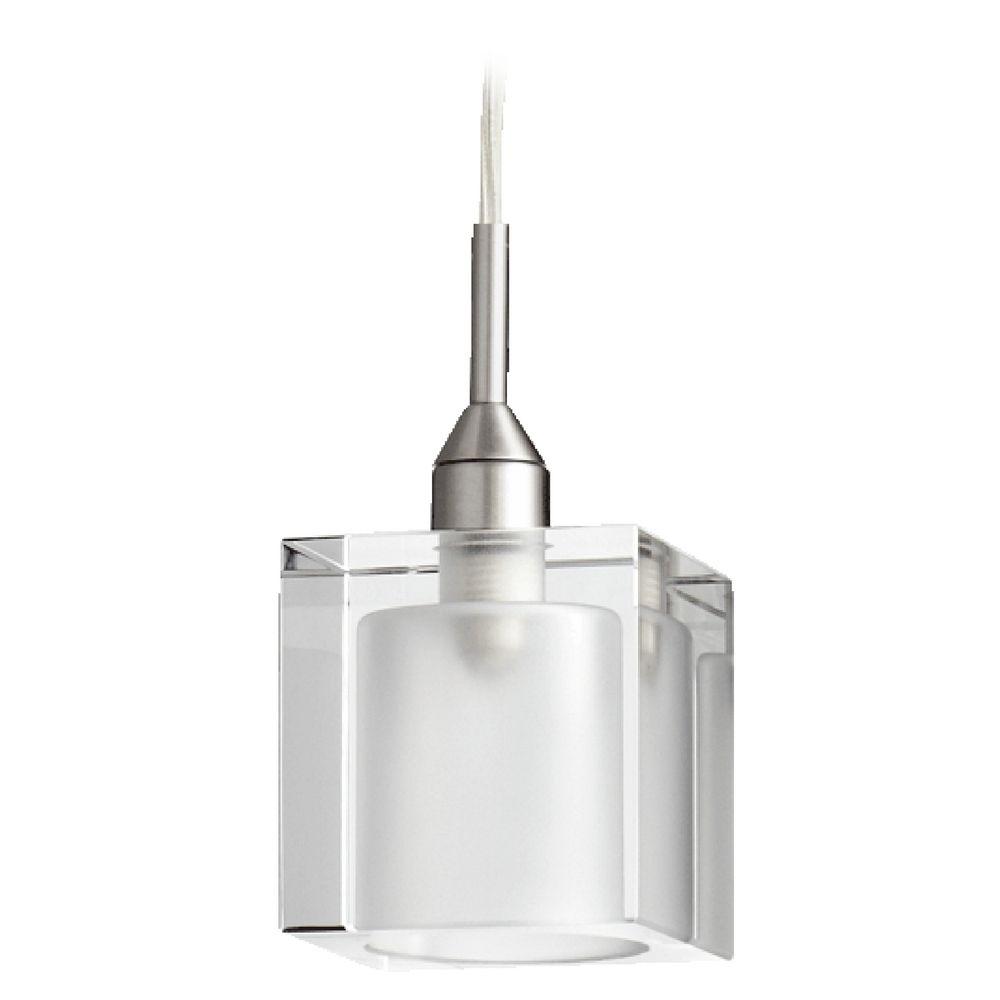 Brushed Nickel Mini Pendant Light